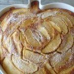Torta di mele ricotta e cannella