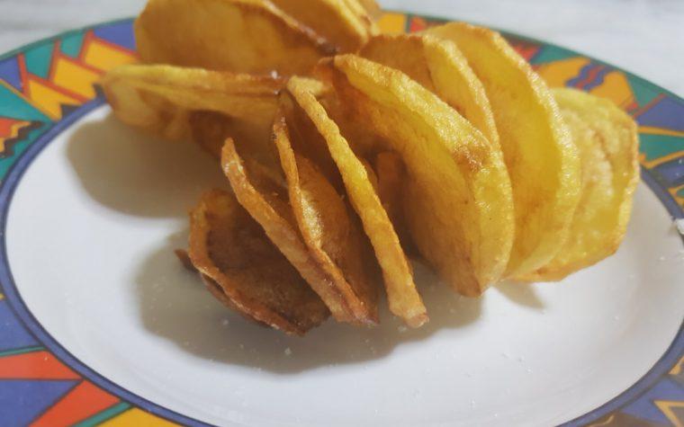 Patate fritte spiralizzate