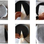 Come foderare una teglia con la carta forno